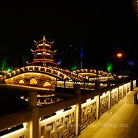 乐山嘉州长卷照明设计图集—2014神灯奖项目申报