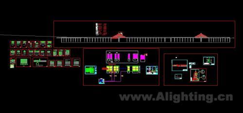 工程布灯图及灯具结构图