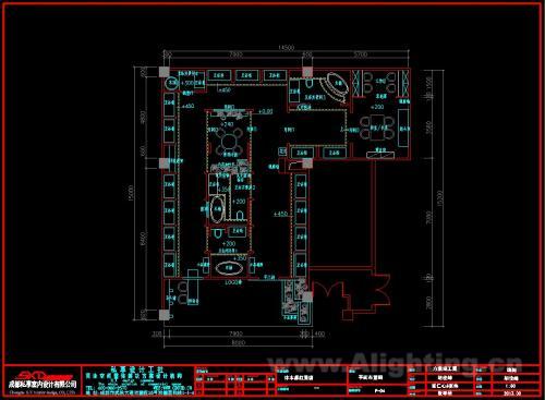 灯光设计工程图纸