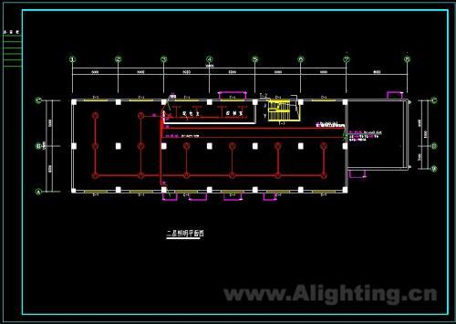 附件为厂房照明设计施工图纸