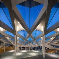 米泽尔法特储蓄银行建筑灯光设计