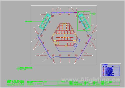 天津大悦城灯光全套图纸资料-阿拉丁照明网