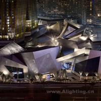 美高梅幻影城市中心城市夜景照明