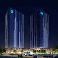 北滘镇新城区总部办公大楼办公照明效果图