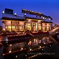 具有江南风情的杭州西溪悦椿度假酒店灯光设计