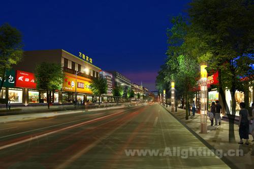 安徽明光市城市夜景亮化专项规划设计