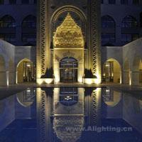 土耳其贝莱克凯宾斯基圆顶大酒店照明设计