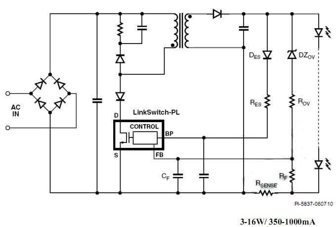 过去一度使用的阻容降压,线性稳压,线性稳流都是对led 光源性能有很大