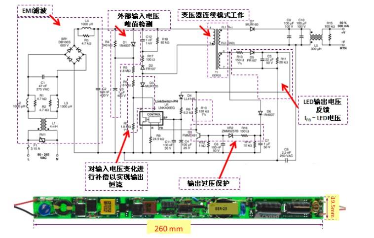 从技术和市场经济的角度对LED日光灯具的驱动电源设计技术进行分析,说明目前LED灯具长寿命的难点是铝电解电容器本身性能所致,建议革新结构、创新设计LED日光灯可方便内置外卸的驱动电源模块。   2010年LED日光灯在上海世博会的沪上 ? 生态家、上海地铁(如2号线江苏路站厅)、地下车库、学校教室、医院、办公大楼及新建住宅楼等需要长时间光照的公共场所大放光彩;LED日光灯出口量持续增长;LED日光灯的省电效应已被普遍公认,社会需求与日俱增,正在成为新一代照明灯具的明日之星。  图1 沪上 ?