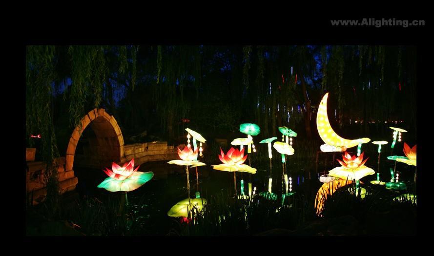 2011圆明园灯会夜景——太美丽了