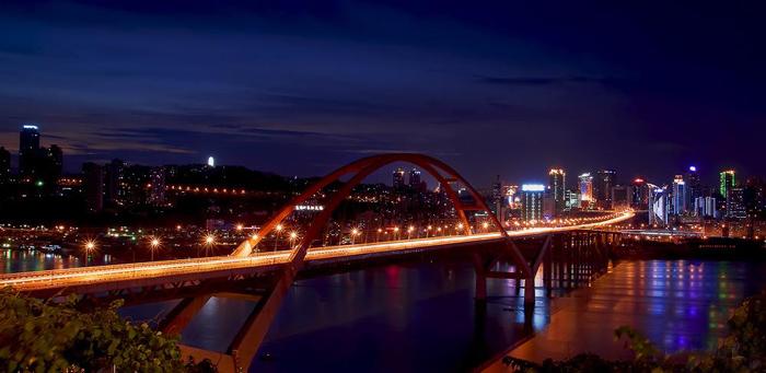中承式拱桥-桥都 重庆 不一样的桥景