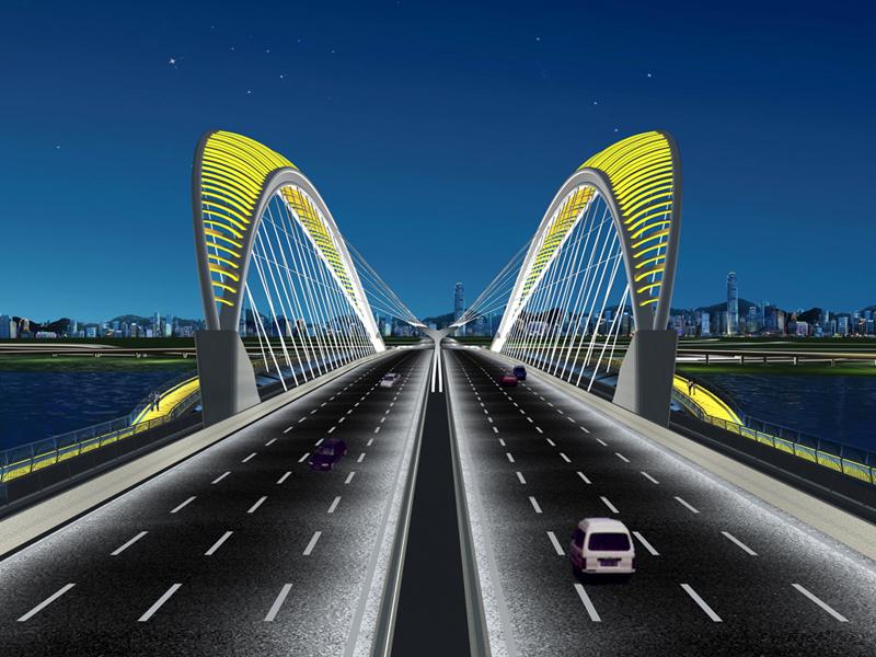 太原南中环桥照明设计方案-杨陈毅