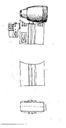 一款简约派导轨射灯,手绘图-qbqb1984