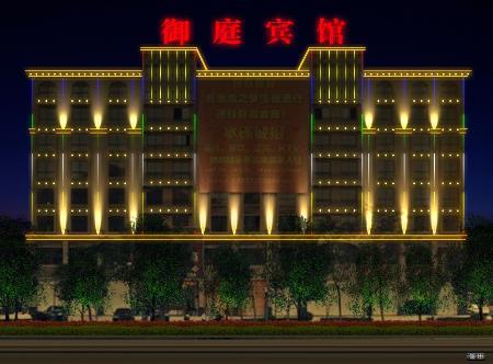 照明led室内亮化室外亮化动态效果宾馆外墙亮化灯光设计