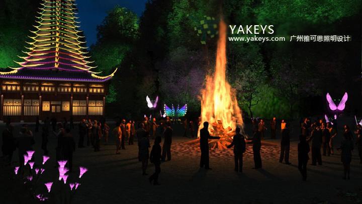 广州雅可思照明推出最新业务-3d灯光动画