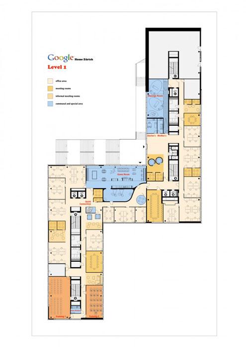 google在苏黎世的办公室设计