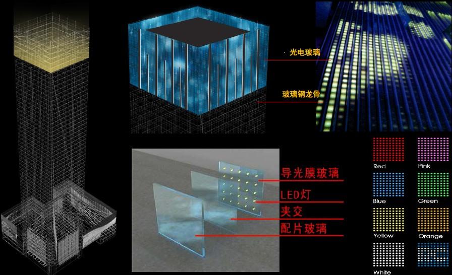 福田皇庭大厦灯光夜景照明设计方案深圳麦西亚照明设计顾问有限公司