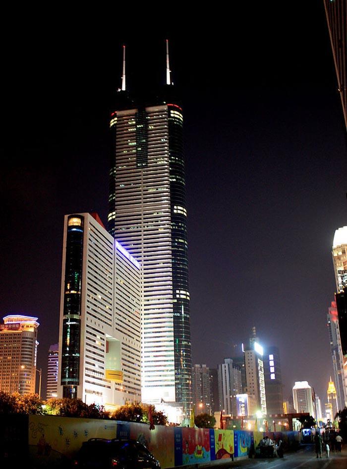 深圳未来高楼规划_帝王大厦楼体夜景照明-王帅-深圳新未来照明设计