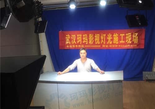 青海青藏铁路公司电视台演播室尺寸长7.8米宽4.8米高3.