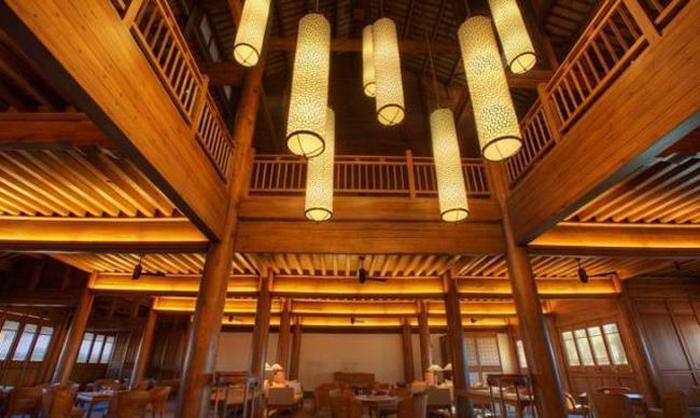 丽江大研安曼酒店中国风照明灯光设计-纳美星照明图片