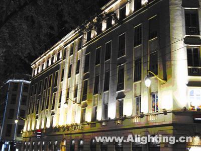 里昂街道功能照明与夜景照明图