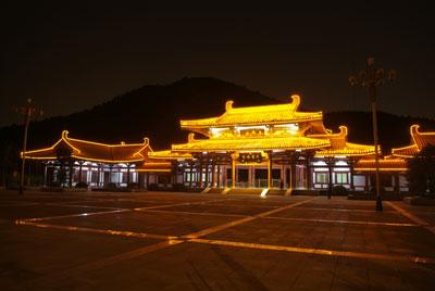 08中照奖提名:济南千佛山照明工程(图)
