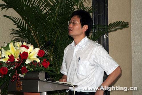 08中照獎頒獎:姚夢明做報告(組圖)