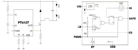 日光灯与整流器串联电路简图