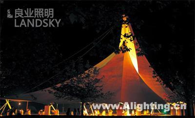 青岛五四广场与音乐广场照明设计(组图)