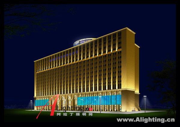 南京神旺大酒店夜景照明设计二(组图)