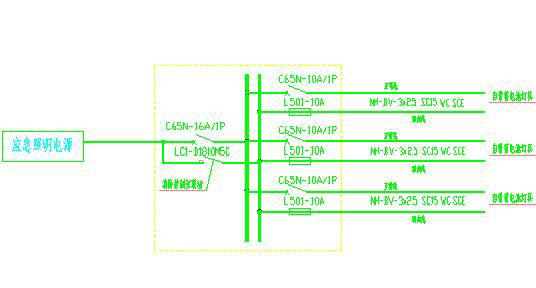 火灾应急照明设计浅析 不做自动报警的建筑,其自带蓄电池应急灯具