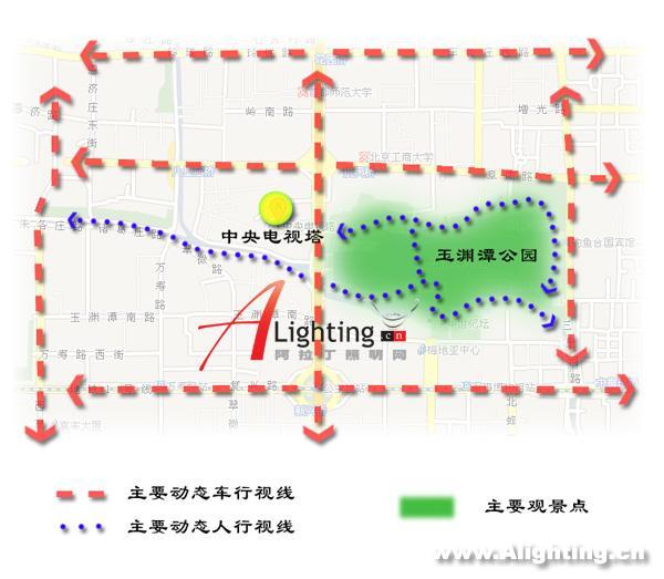 北京中央电视塔新夜景照明设计(组图)
