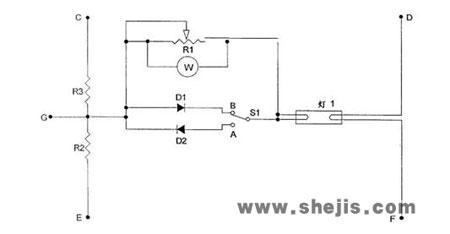 荧光灯电子镇流器整流效应的检测(图)