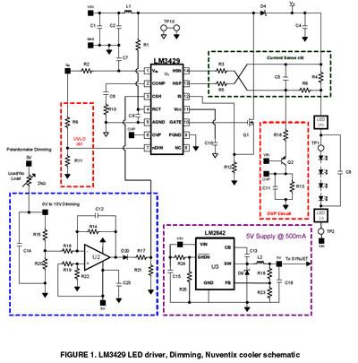 led灯参考设计的主要特性
