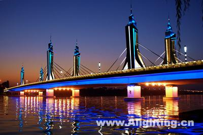 北京玉带河大桥夜景照明设计详解(组图)