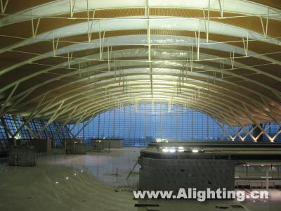 浦东国际机场t2航站楼照明设计详解(图)