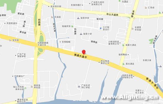 广州羊城创意产业园地图