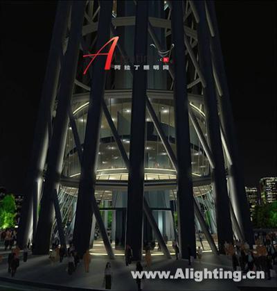 广州新电视塔夜景照明设计方案(组图)