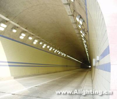 江西雁列山隧道照明设计案例(组图)
