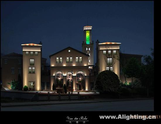 南京玛斯兰德庭院别墅照明别墅(图)金刚论坛夜景图片