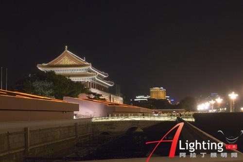 天安门广场地区夜景照明设计详解(组图)