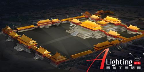 北京故宫三大殿夜景照明设计详解(组图)图片