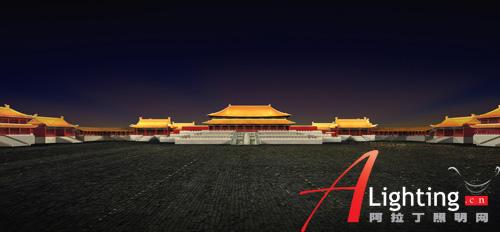 北京故宫三大殿夜景照明设计详解(组图)