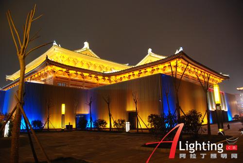 西安贞观文化广场夜景照明设计详解(图)
