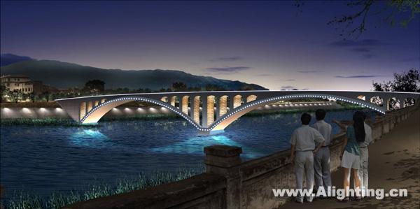 仁河桥效果图; 遂宁市河东新区图片分享; 四川遂宁旅游景点;