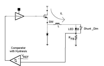 大电流led驱动器中的调光方法(图)